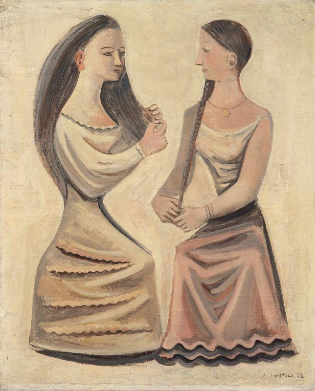 Massimo Campigli, La coiffure, 1938