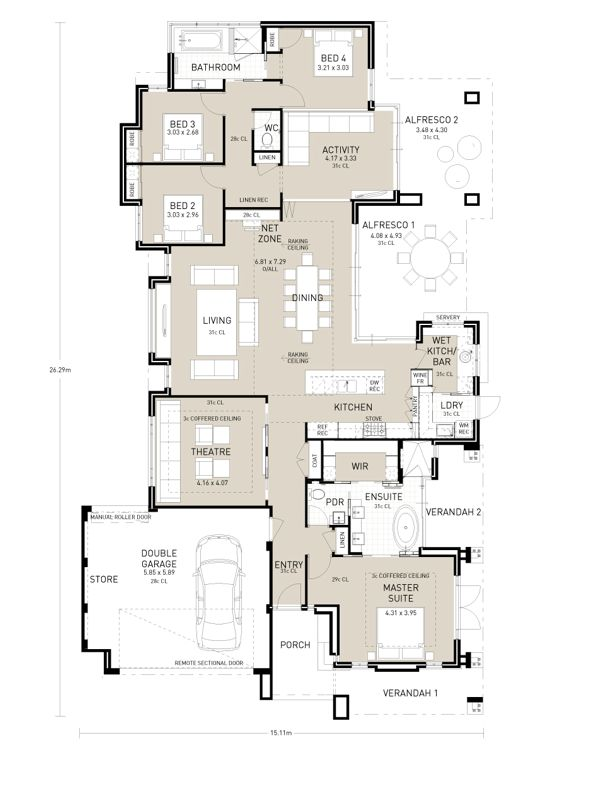 Find This Pin And More On Ants House Design By Birdy_numnum. Floor Plan ...