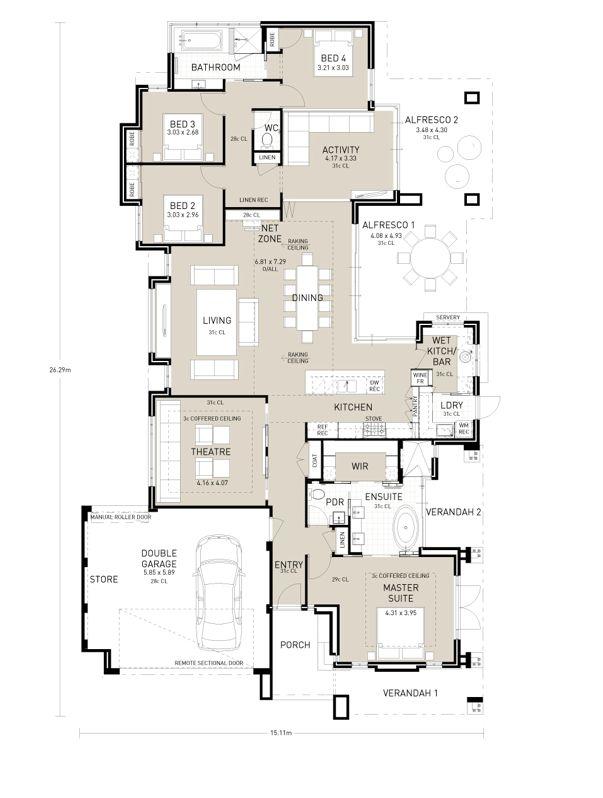 Floor Plan Friday: The Master Wing
