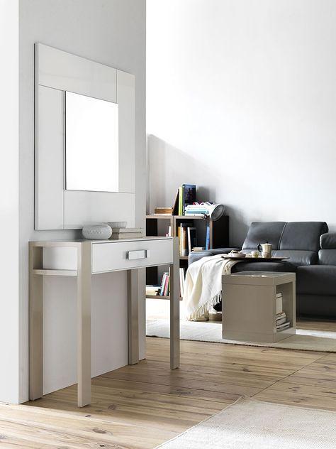 M s de 25 ideas incre bles sobre consola recibidor en for Muebles vestibulo moderno
