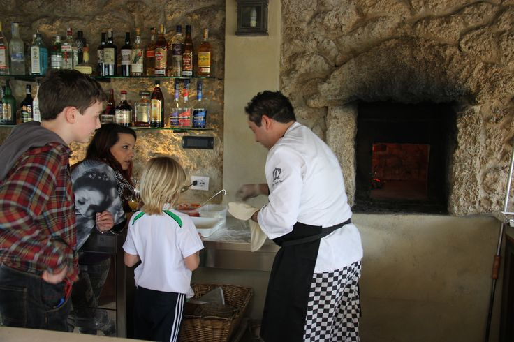 Pizza making class for the young ones. #pizza #tuscany #cooking