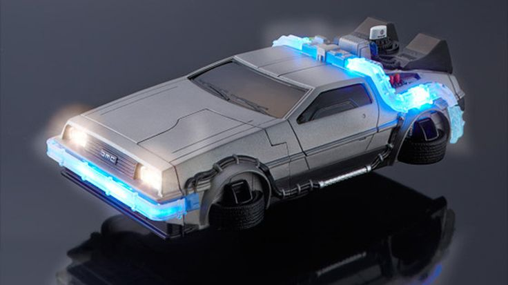 Flying DeLorean iPhone case