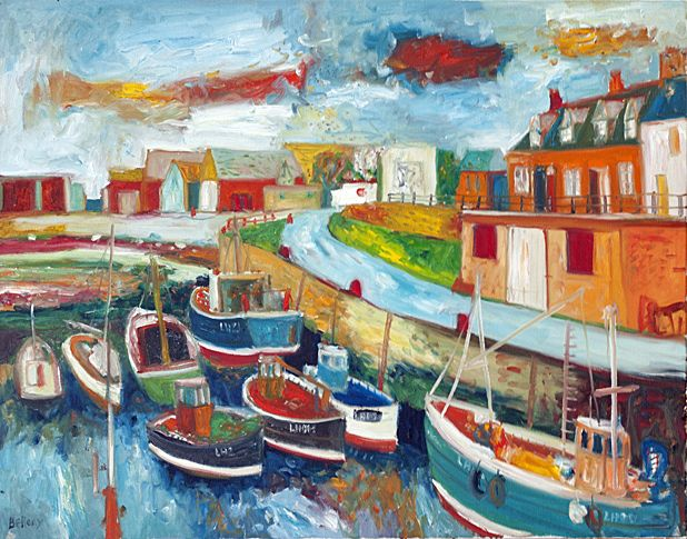 John Bellany at 70 on www.arttokens.co.uk Art Events In Scotland | Exhibitions Edinburgh | Glasgow Art Galleries