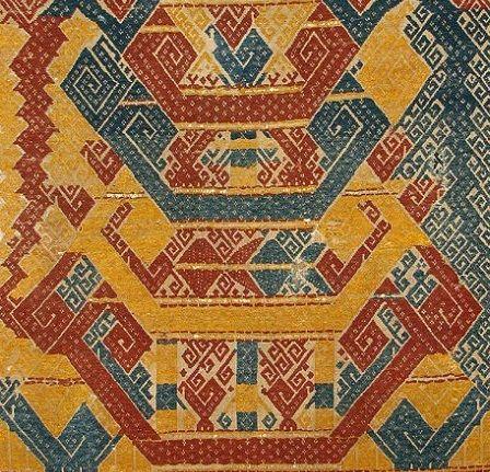 Image result for Tatibin ceremonial cloth Lampung