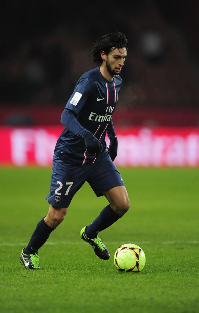 Javier Pastore - Talleres, Huracán, Palermo, Paris Saint-Germain, Argentina.