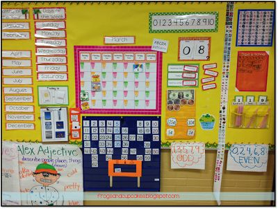 Calendar Time at My Math Block Mini-Series {Part 1}...great ideas here!