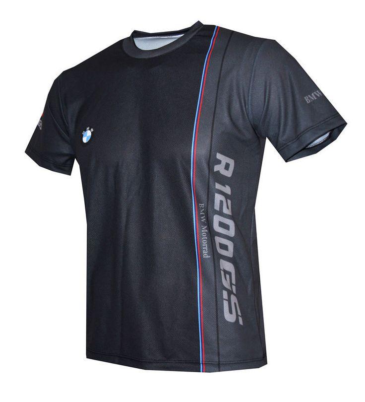 BMW Motorrad R1200GS Logo Motorcycle quality graphics design men's t-shirt #Handmade #sublimatedprint