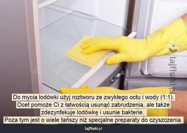 Czym umyć lodówkę? - Do mycia lodówki użyj roztworu ze zwykłego octu i wody…