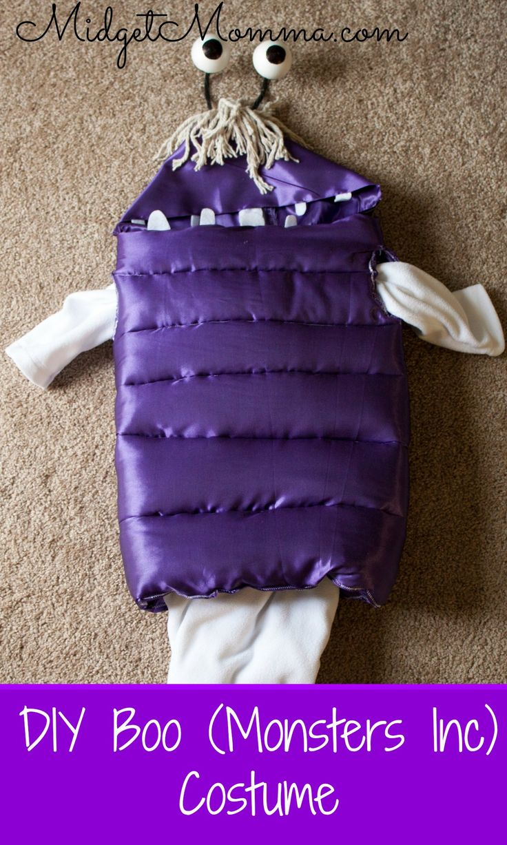 diy boo from monster inc costume - Boo Halloween Costumes