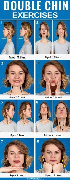 Here is a list of the best exercises designed to help return your face to it is former glory.