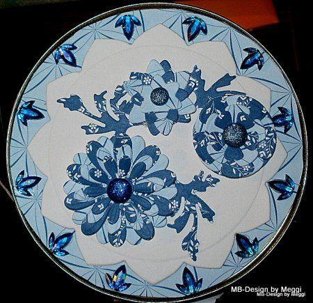 http://meggis-card-art-mb-design.blogspot.de/  Atelier Tausendschön by Meggi, Der Deckel mit Marianne Desgn, Nellie Snellen, Karin Jittenmeier, Reddy-Cards