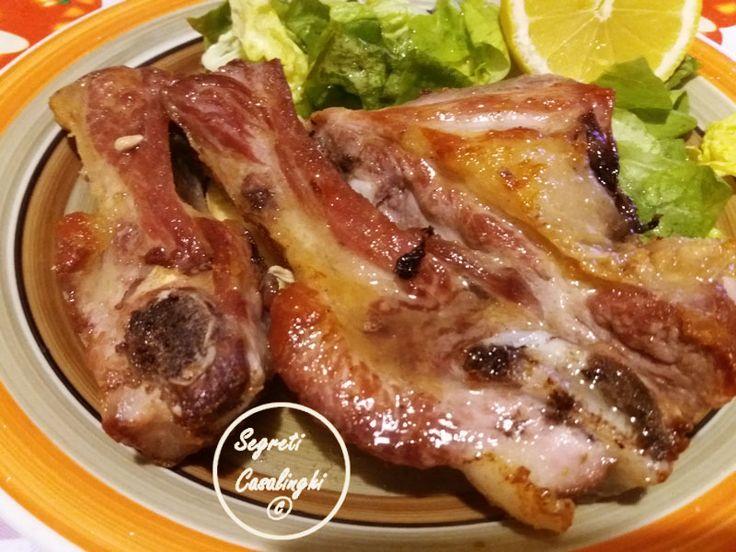 tracchiulelle maiale,costine maiale,ricette con carne,ricette con carne maiale,costine ricetta,tracchiulelle di maiale in padella,ricetta costine in padella