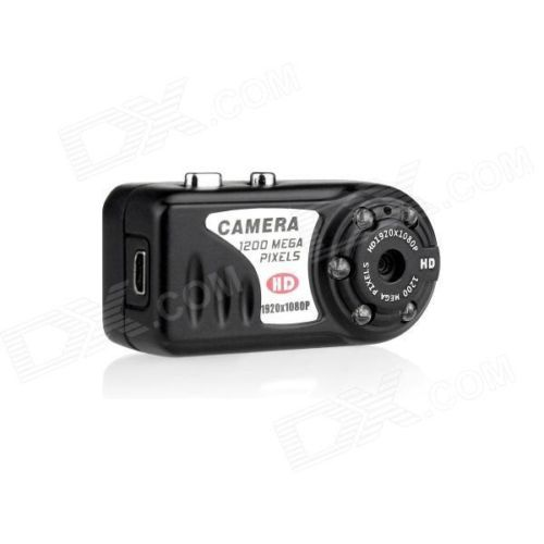 Mini Portable 5.0MP HD 1080P Camera Camcorder with 5-LED IR NIGHT VISION !