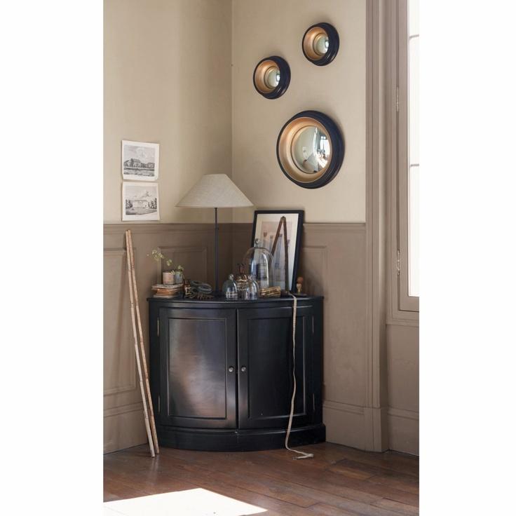 Miroir de sorci re samantha 2 tailles am pm dream home for Petit miroir industriel