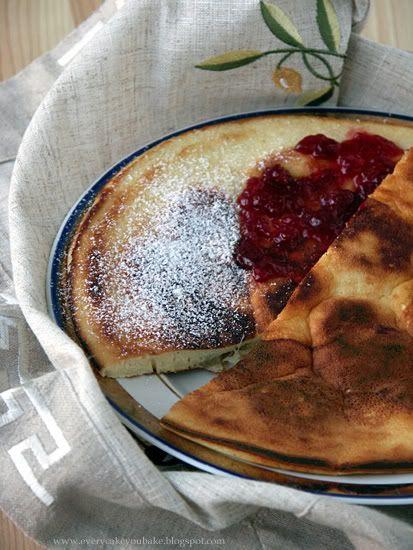 omlet biszkoptowy grzybek na słodko z jabłkami lub bananami