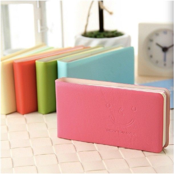 """""""Show Your Smile"""" 1 pc Color Pages Mini Pocket Diary Study Notebook Cute Planner #Unbranded"""
