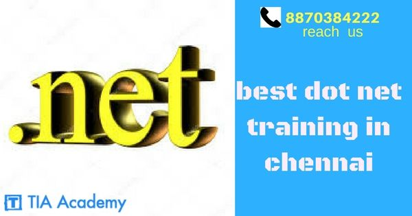 #dotnet framework  is a software framework developed by Microsoft that runs primarily on Microsoft Windows.  Microsoft also produces an integrated development environment largely for dotnet software called Visual Studio. #dotnet #dotnettraining in Chennai at #TIAacademy.