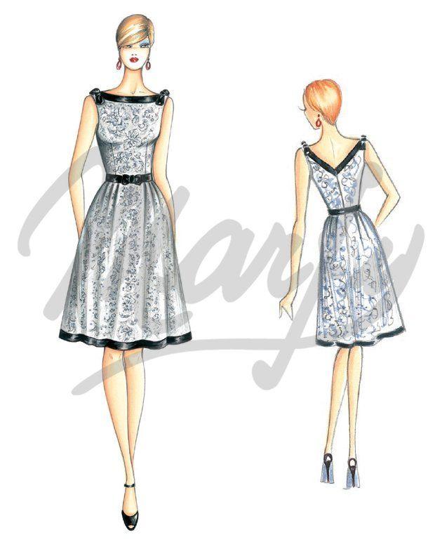 Patron couture gratuit jupe plissee - Patron couture jupe gratuit ...