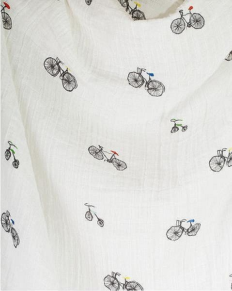 LITTLE UNICORN - COUVERTURE POUR EMMAILLOTER - COTON - BIKES