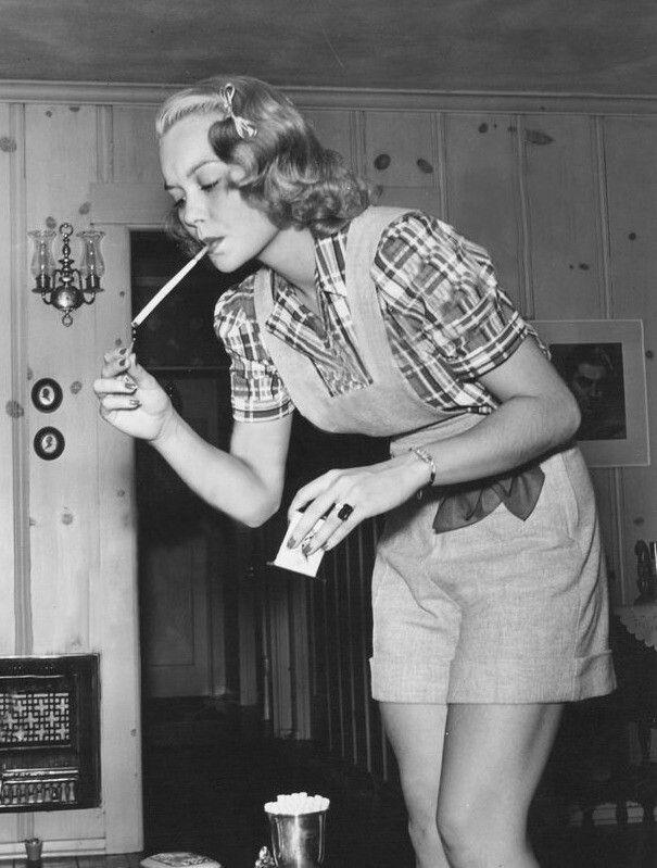 Jane Wyman - late 30's