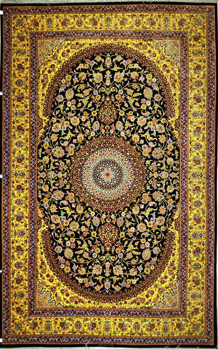 Qum Silk Persian Rug Exclusive Collection Of Rugs And Tableau Treasure Gallery You