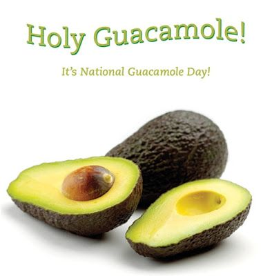 September 16 is...NATIONAL GUACAMOLE DAY | There are party foods, then, there are perfect party foods! You know...the ones that are easy to make, healthy and oh-so good. These are the crowd pleasers. The dishes that run out first begging to be filled over and over again. Then, there are the variations that drive you crazy!