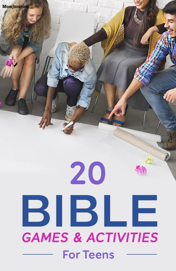 20 Fun Bible Games And Activities For Teens