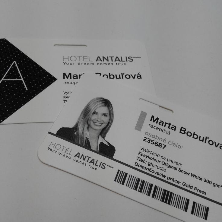 Hotelový preukaz ANTALIS