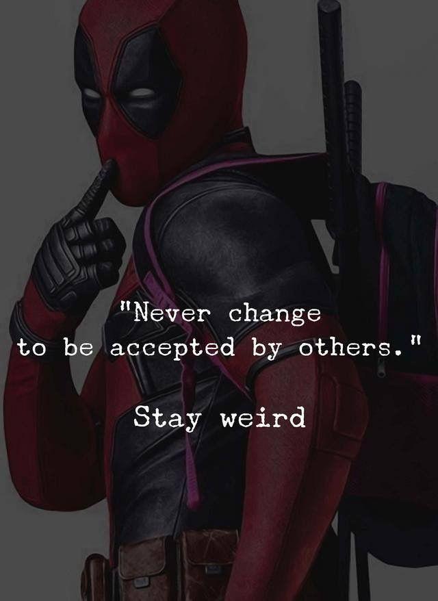 deadpool inspirational quotes