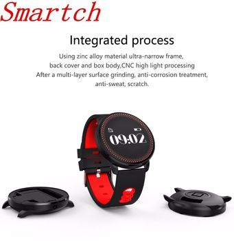 Smartch New SmartWatch CF007 Heart Rate Blood Oxygen Monitor Smart Watch Bracelet Fitness tracker For Android And IOS Smartphone  Price: 21.17 USD