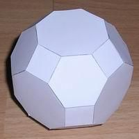 Paper Model Truncated Cuboctahedron