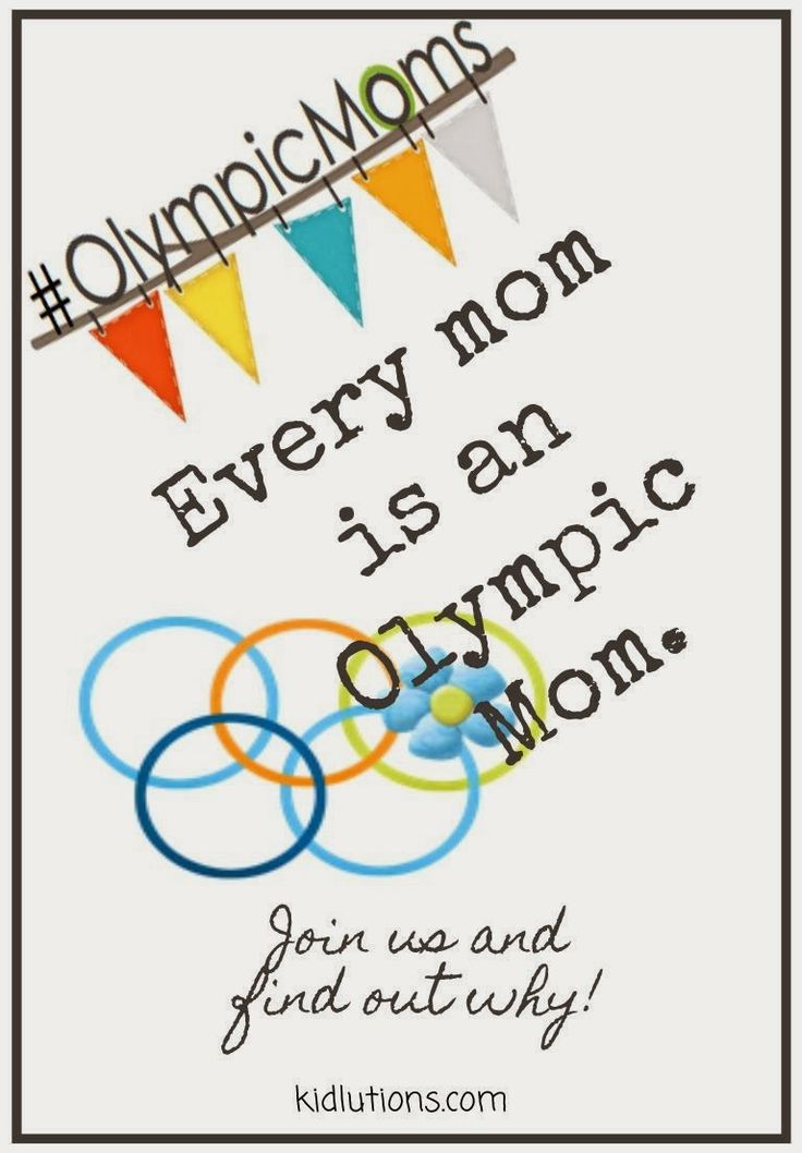 Every Mom is an #OlympicMom. Join us to find out why! Don't miss it! #Therapists #Teachers and #Counselors welcome, too! Info that can help anyone who cares about and works with children and families!
