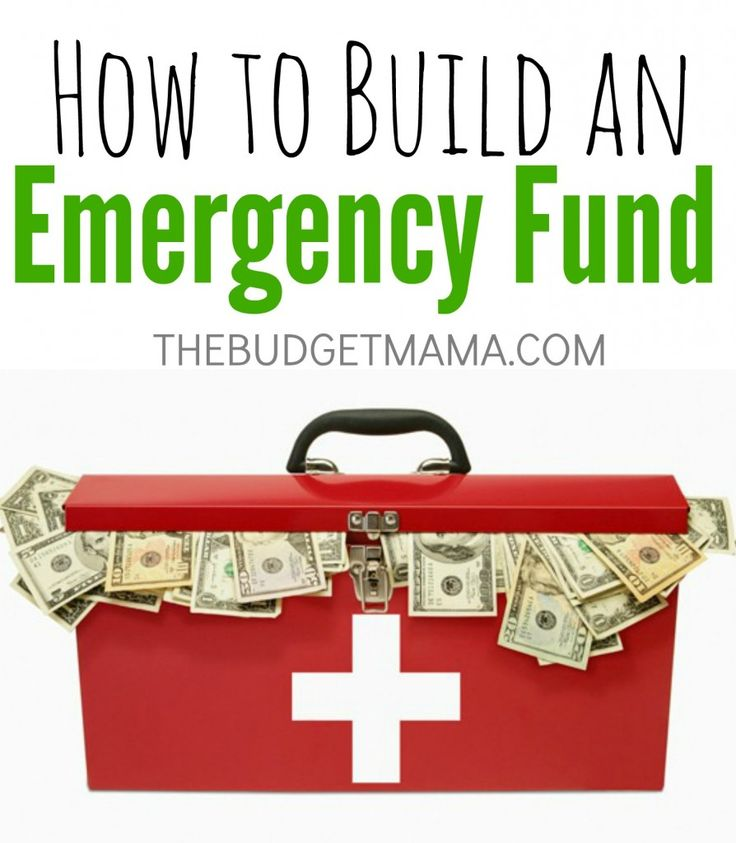 How To Build an Emergency Fund.