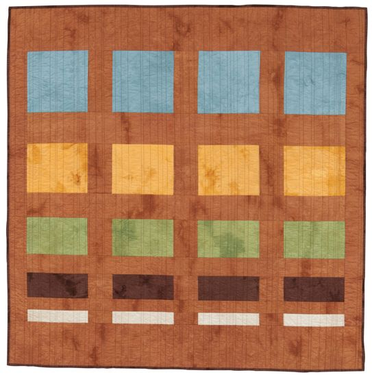Easy Quilt Patterns For Graduation : Speedy no-block quilt: