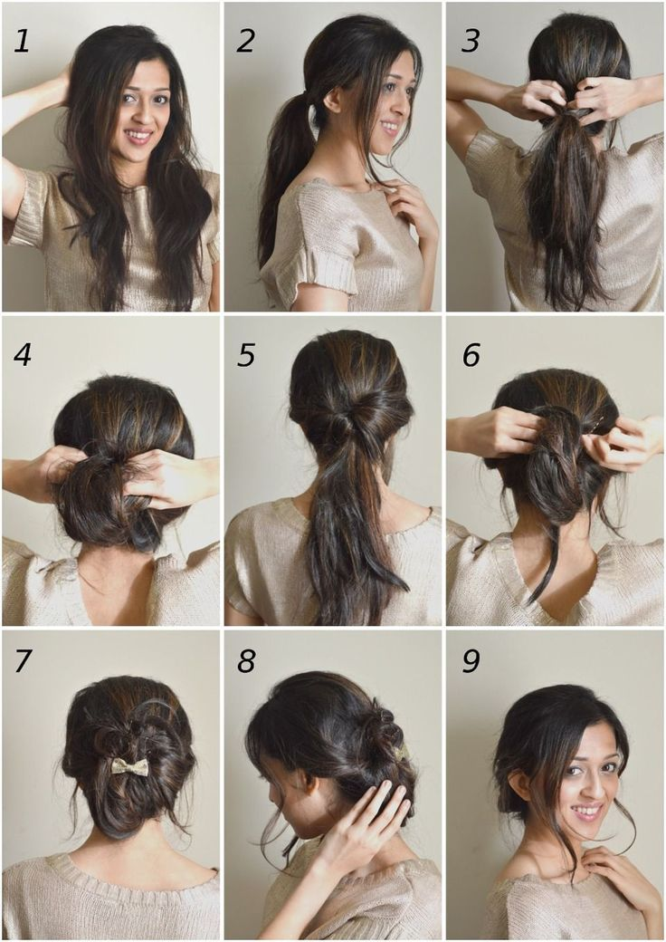 Lazy Girls Hairstyle Tutorials Simple And Easy  Updos For Longhair