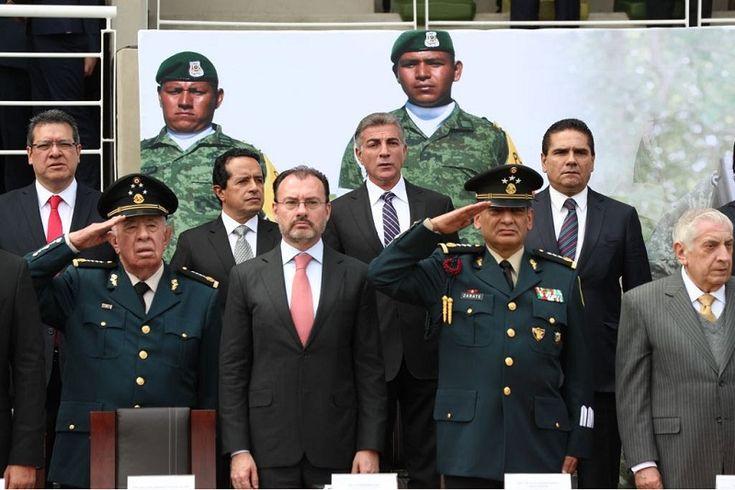 El gobernador reiteró su agradecimiento y reconocimiento a las Fuerzas Armadas por su entrega y compromiso al servicio de las mexicanas y mexicanos – Ciudad de México, 19 de febrero ...