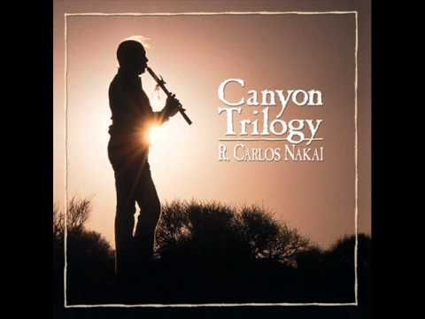 R. Carlos Nakai - Song For The Morning Star (Canyon Trilogy Track 1) Native American Eagle Flute