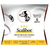 Scalibor Protector Band for Dogs: one collar provides up to 6 months of protection against fleas and ticks.