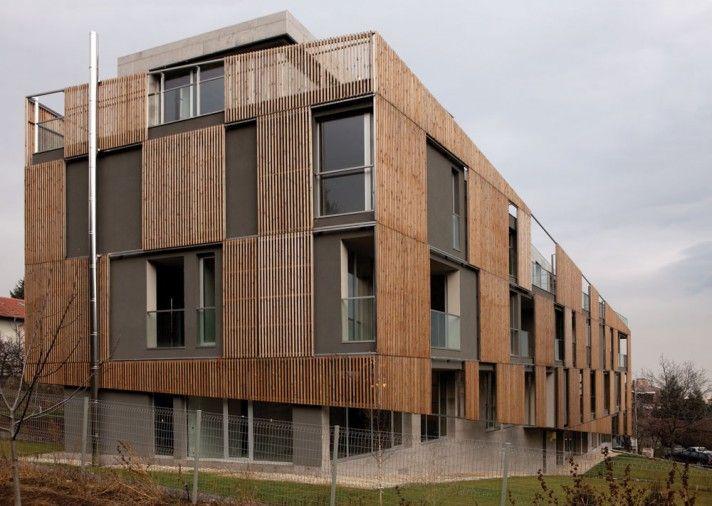 Boyana apartment block sofia bulgaria i o architects architecture pinterest sofia - Architectuur staal corten ...