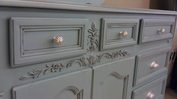 One of my favorite furniture re-purposing stores shares her secrets to refinishing old pieces of furniture