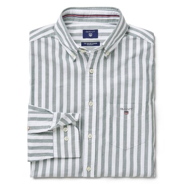 Oxford Banker Striped Shirt