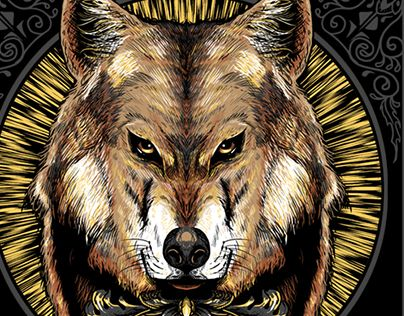 """Check out new work on my @Behance portfolio: """"Mexican Wolf"""" http://be.net/gallery/61096221/Mexican-Wolf"""