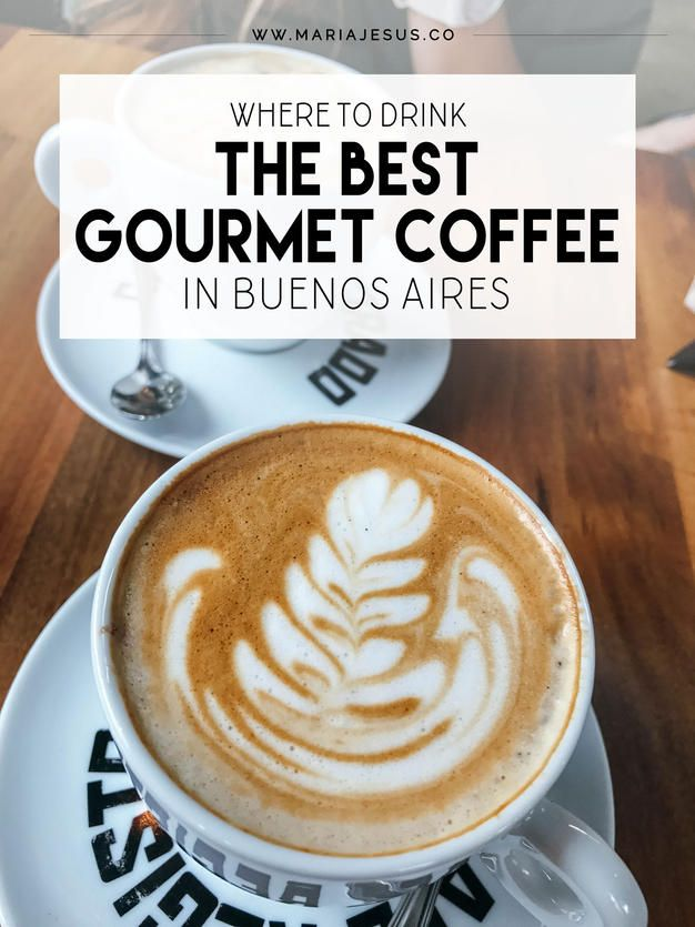 BUENOS AIRES, ARGENTINA // Where to drink the best gourmet coffee