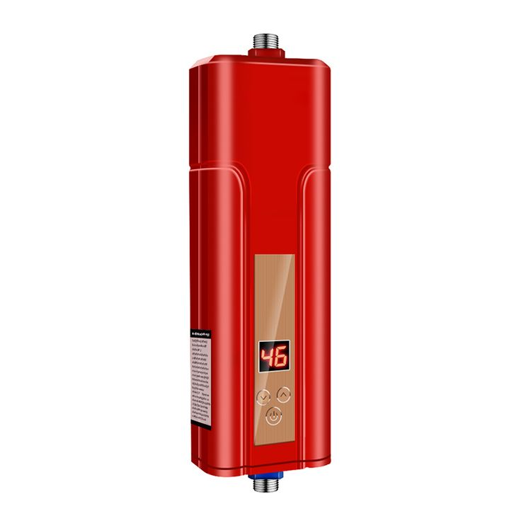5500W Electric Indoor Tankless Instant Water Heater for Bathroom Water Heater Faucet Water Heater for Kitchen