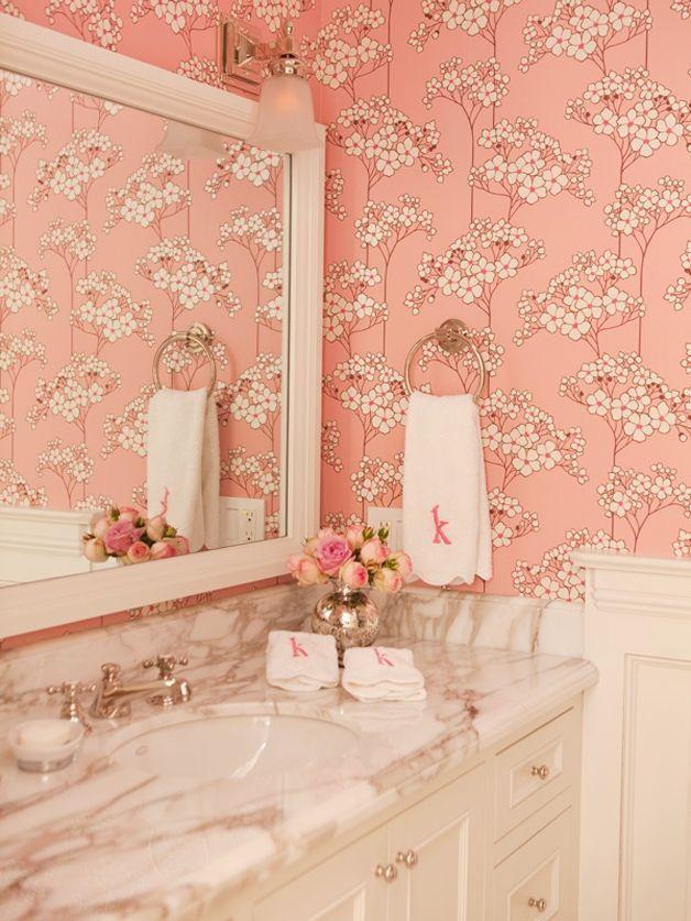 Girly Bathroom Ideas   Feminine and Elegant Bathroom Designs