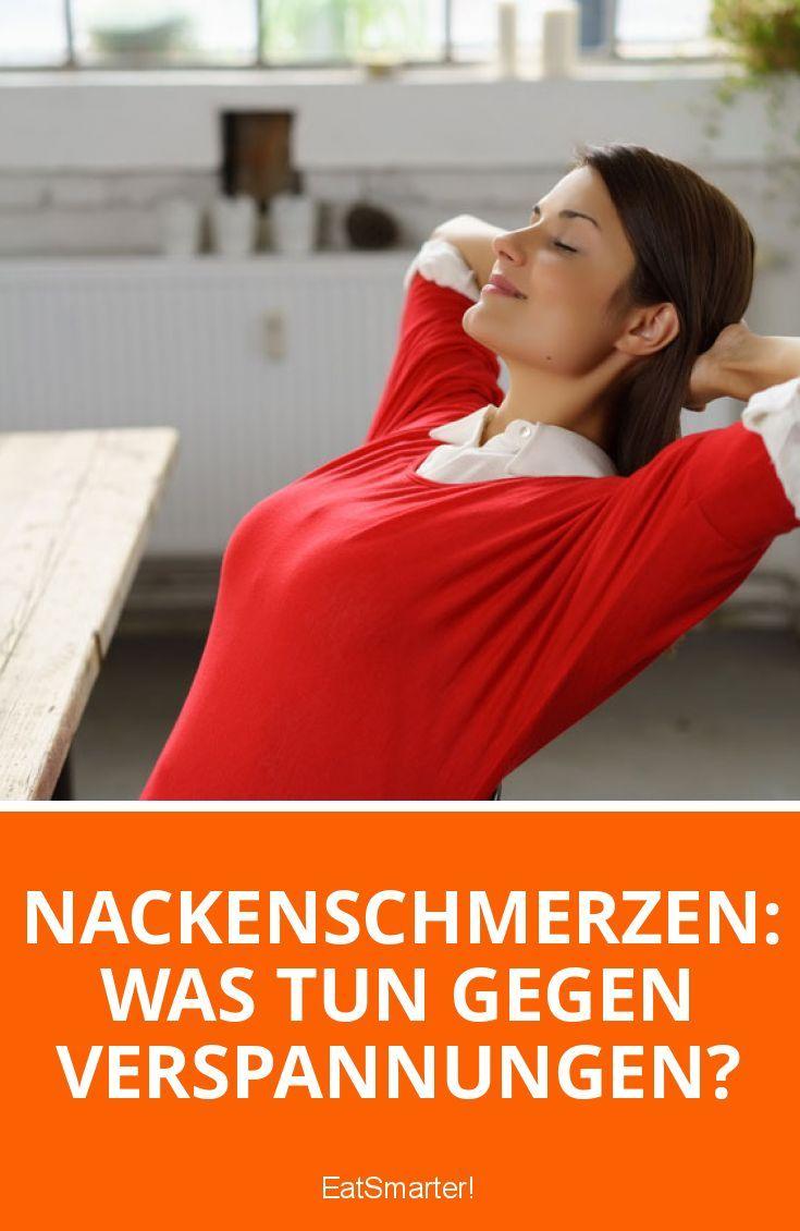 Nackenschmerzen: Was tun gegen Verspannungen? | eatsmarter.de