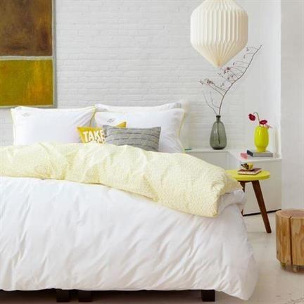 Mexx Monte Video dekbedovertrek - www.smulderstextiel.nl - #geel #yellow #lente #voorjaar #bedding #sheets #beddengoed #slaapkamer #bedroom #sheets #interior #dessin #pattern #lifestyle