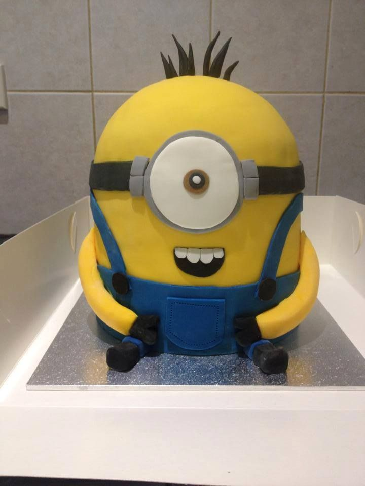 Minion Cake for a 23rd Birthday.