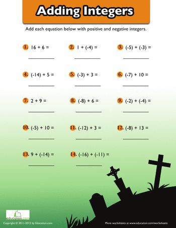 math worksheet : best 25 adding negative numbers ideas on pinterest  subtracting  : Adding Negative Numbers Worksheet