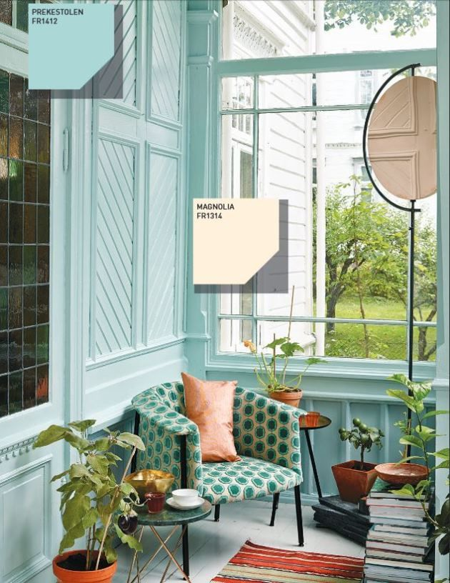 What makes Fargerike Color of the year 2014 bluegreen and its ...